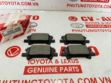 Hình ảnh của04466-48060, 0446648060 Má phanh sau Lexus RX330 RX350 chính hãng