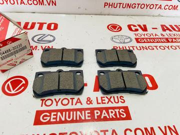 Hình ảnh của04466-30230, 0446630230 Má phanh sau Lexus IS250, GS300, GS350 chính hãng