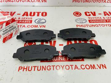 Hình ảnh của04465-28520, 0446528520 Má phanh trước Toyota Alphard, Previa chính hãng