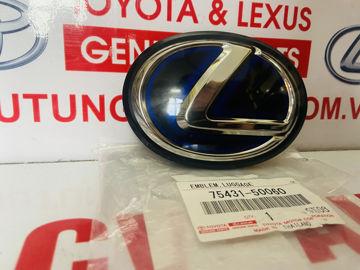 Hình ảnh của75431-50060, 7543150060 Lô gô sau Lexus LS600 chính hãng